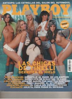 Rta. Playboy Argentina Nº 18 Año 2007 Las Chicas De Tinelli