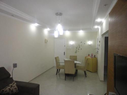 Apartamento À Venda, 70 M² Por R$ 375.000,00 - Campo Grande - Santos/sp - Ap2835