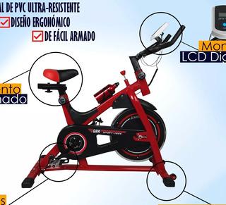 Bicicleta Spinning Indoor Profesional 13k De Disco