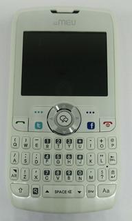 Celular Sn80 Branco/rosa C/ Avaria S/ Garantia