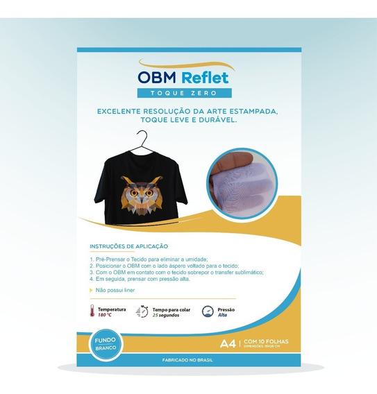 Obm Reflet Toque Zero | A4 Com 10 Fls