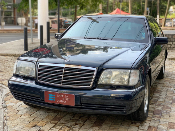 Mercedes S 500 V8 - 1997 (blindado)