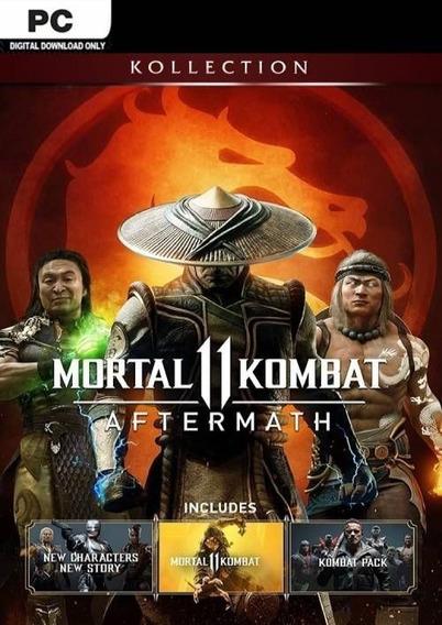 Mortal Kombat 11 Aftermath Kollection Pc Steam Online
