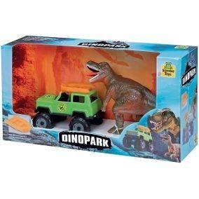 Carro De Brinquedo Jipe Dino Park Samba Toys Ref. 091