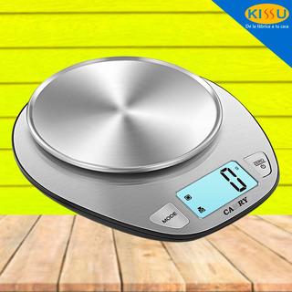 Balanza De Cocina Camry Digital Pesa Hasta 5kg Acero Inox