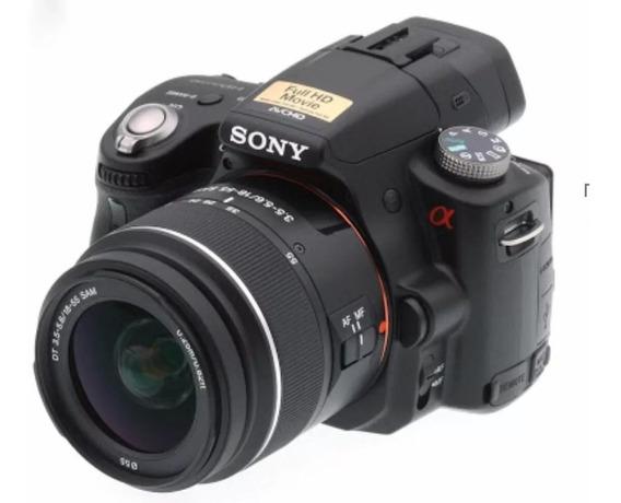 Camera Digital Sony Alpha 33 Com Case E Lentes