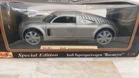 Miniatura Em Escala 1/18 Do Audi Rosemeyer