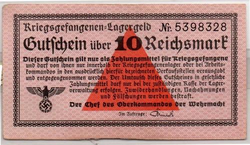 Alemania 10 Reichsmark Tercer Reich