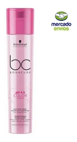 Shampoo Color Freeze Sin Sulfatos Bonac - mL a $208