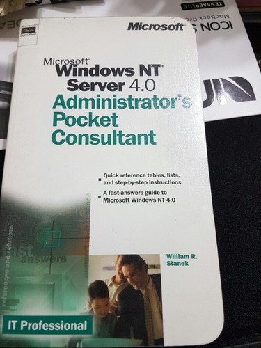 Libro Windows Nt 4.0 Administrator Pocket