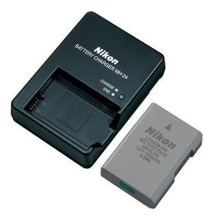Cargador Nikon Mh-24 + Bateria En-el14a D3300 D3400 D5500