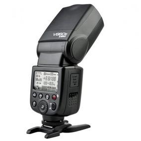 Flash V860c E-ttl Li-íon Para Canon Godox Ving V860c Kit