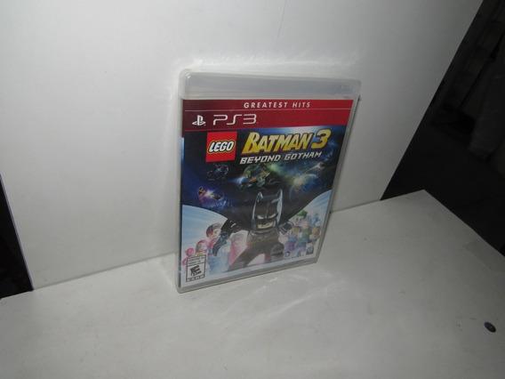 Lego Batman 3 Beyond Gotham Ps3 Mídia Física Novo Lacrado