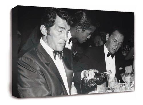 Cuadro De Frank Sinatra Y Jack Daniels Y Muchas Otras Mas