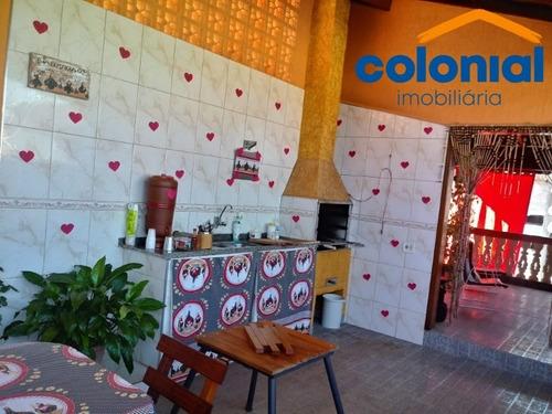 Casa 3 Quartos Com Suíte No São José Em  Campo Limpo Paulista - Ca01108 - 69368441