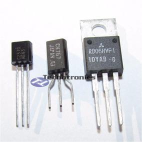 Transistor 2sc2570 + 2sc4767 + Rd06 P/ Tx Fm Cze 7w E 15w