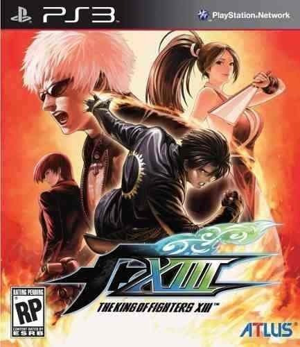 Kof 13 The King Of Fighters Xiii - Playstation 3 Jogos Ps3