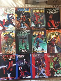 Marvel Lote Spiderman - 12 Encadernados Importados