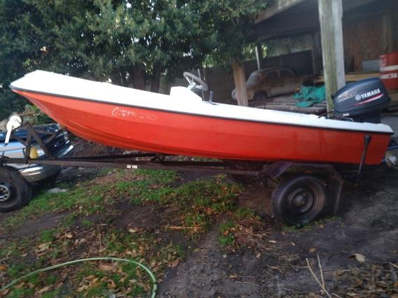 Bote Arquín Pescador Con Motor Yamaha 40 Hp