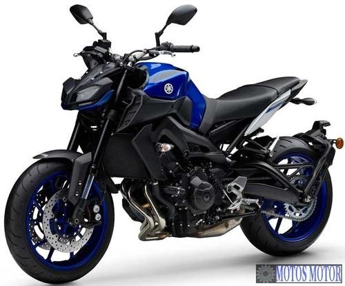 Imagem 1 de 3 de Mt09 Abs 2022 Yamaha 0km Azul