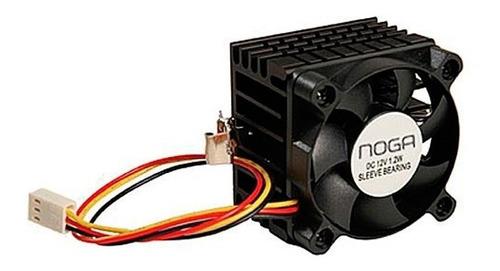 Cooler Disipador Para Pentium 1 Pc Cpu Gabinete Ganchos Noga