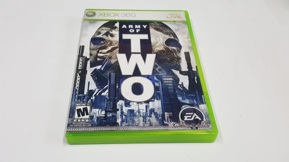 Army Of Two - Xbox 360 - Original - Mídia Física