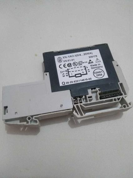 Eaton Moeller Xn-1ao-i (0/4...20ma) Com Base Xn-s3t-sbc