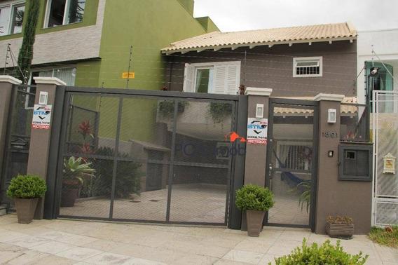 Casa Triplex Com 3 Suítes No Bairro Ipanema - Ca0456