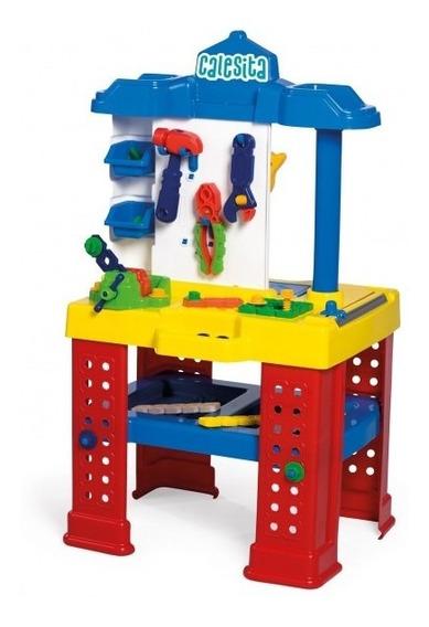 Brinquedo Com Ferramentas Bancada De Trabalho - Calesita 450