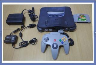 Nintendo 64 Original Completo + Super Mario 64 Original