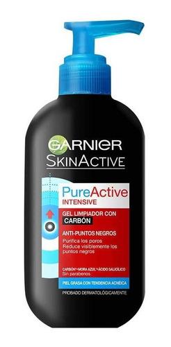 Gel Limpiador Garnier Pure Active Carbon 200 Ml