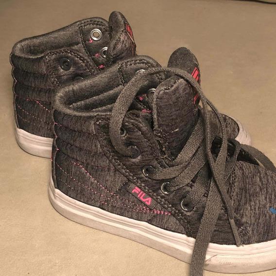 Zapatillas Niña Fila Número Usa 11 Importadas Impecables T28