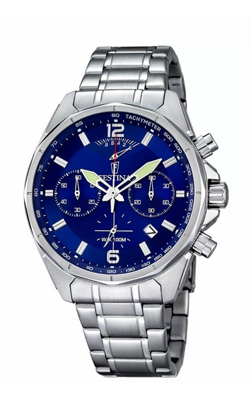 Relogio Festina Stainless Steel Chronograph F6835/3