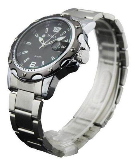 Relógio Masculino Hmd Com Data + Brinde