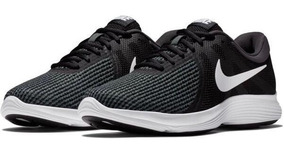 Tenis Nike Tallas Grandes Revolution 4 Negros 32 Cm (14 Us)