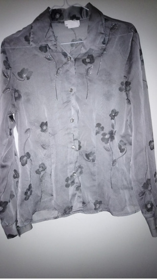 Camisa De Gasa Marca Anne Charles