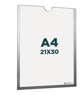 Display A4 Porta Folha Parede 100% Acrílico