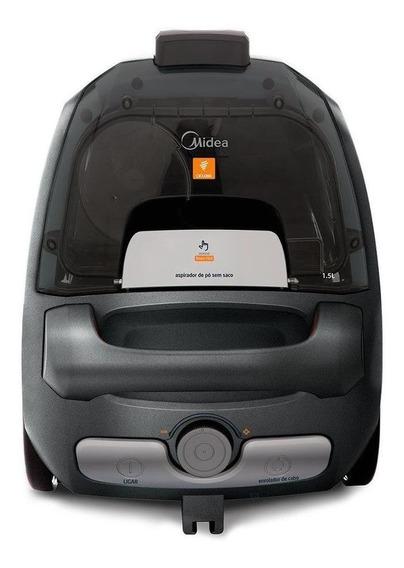 Aspirador Midea Ventus 1.5L prata e grafite 110V
