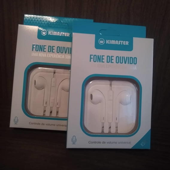 Fone De Ouvido Intra Auricular K505 Kimaster