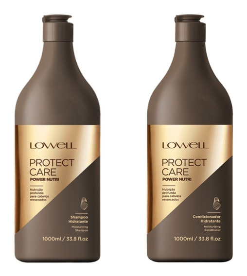 Lowell Protect Care Power Nutri Shampoo + Cond 1000ml