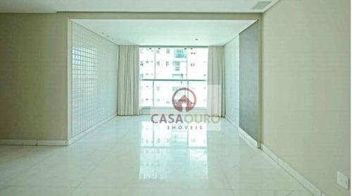 Apartamento Com 4 Quartos À Venda, 137 M² Por R$ 1.900.000 - Lourdes - Belo Horizonte/mg - Ap1207