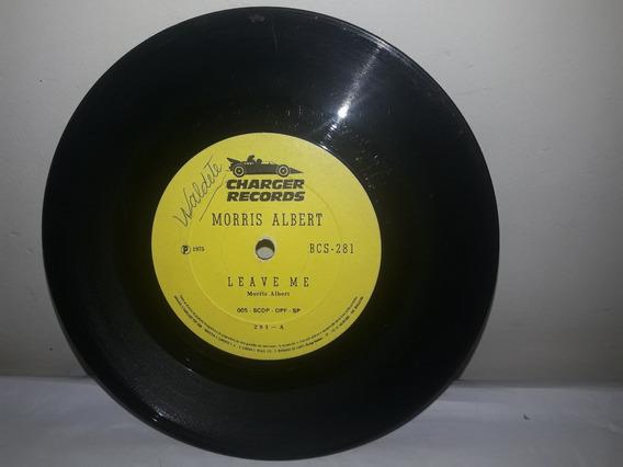 Compacto Morris Albert 1975 Leave Me