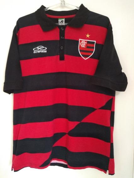 Camisa Polo Flamengo Olympikus 2009 Rara / Impecável / Tam G