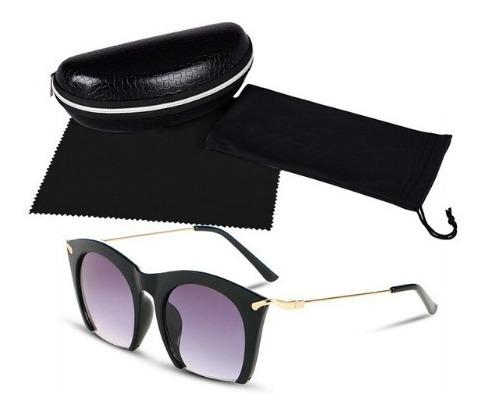 Óculos De Sol Feminino Modelo De Luxo Mulheres Descoladas