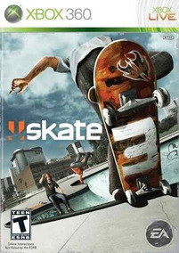 Jogo Skate 3 Xbox360 Ntsc Midia Fisica Original