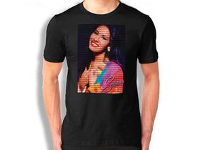 Selena Quintanilla Playera Playera Negracolor Personalizada