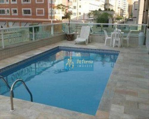Imagem 1 de 19 de Apartamento Com 2 Dormitórios À Venda, 86 M² Por R$ 370.000,00 - Canto Do Forte - Praia Grande/sp - Ap0359