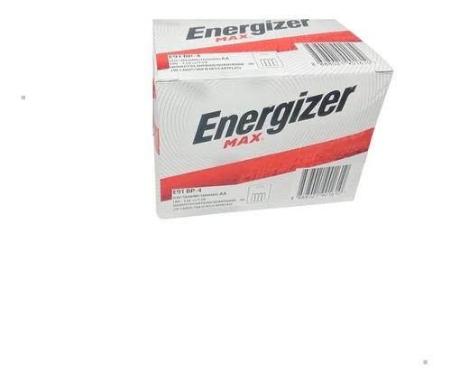 Pilas Energizer Aa Alcalina Caja X 80 Pilas