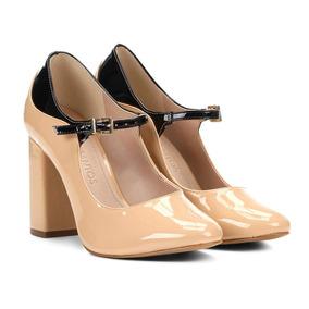d2ed440a0d Salto Alto Loucos E Santos Dourado Feminino Scarpins - Sapatos no ...