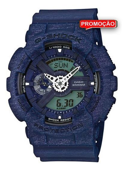 Relógio Casio G-shock Masculino Ga-110ht-2adr 12x S/ Juros